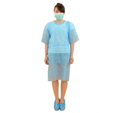 short sleeves isolation gown for examination36396603567