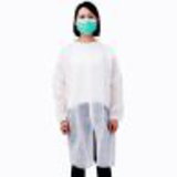 knitted collar snap closure disposable white26289469183