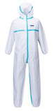 microporous coverall with blue over taped05361205345