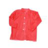 red disposable lab coat41378888649