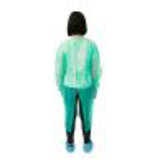 green impervious medical isolation gown34578479402