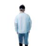 snap closure disposable doctor lab coat23549392482