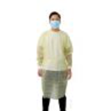 disposable yellow isolation cover gown32100931724