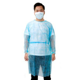 customized light blue chemo tested cover gown35073189178