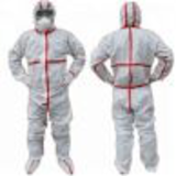 over taped seam microporous coverall10002501054