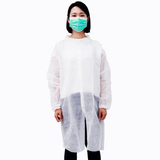 polypropylene white lab coats disposable07561018528