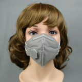 vertical fold dust mask with black exhalation20520077610