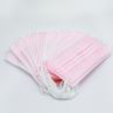 pink earloop medical disposable face mask28418460651