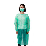 green impervious medical isolation gown33304617307