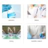 blue button disposable smock lab coat18276980297