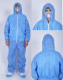 blue disposable sms coverall45262653581