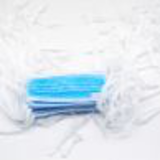 blue surgical mask with ties26076435169