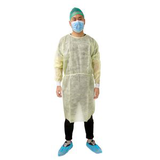 disposable yellow isolation cover gown30391512793