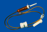 infusion set with Flow regulator