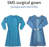 Surgical gown - comply with EN13795