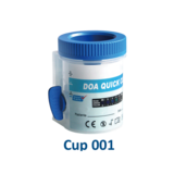 Turn-Key Split Cup MD-U621 Drugs of Abuse Integrated Cup