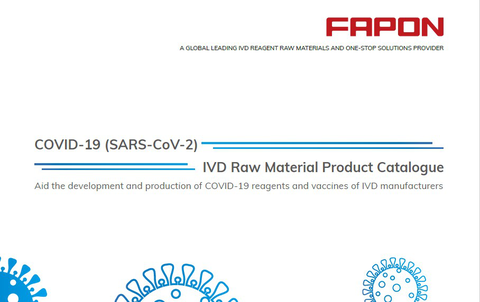 COVID-19 (SARS-CoV-2) IVD Raw Material Product Catalogue