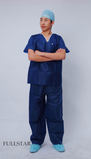 Disposable Hospital Scrub Suit