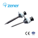 Zener Disposable Trocar/Trocar desechable Zener