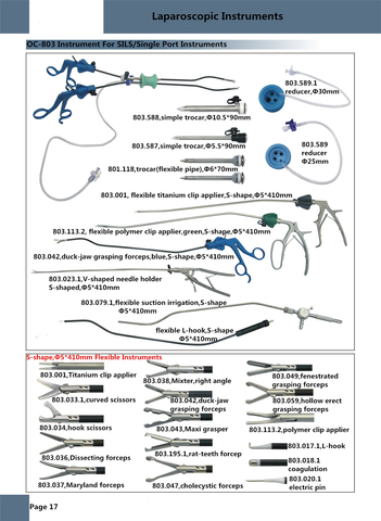 Instruments For SILS