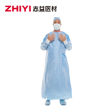disposable SMS surgical gown reinforced