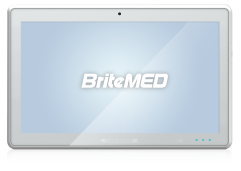 BriteMED® Battery Medical Cart PC