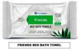FRIENDS BED BATH TOWEL