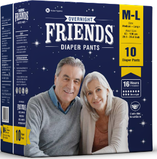 FRIENDS ADULT PULL-UP DIAPERS