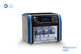 Maelstrom 4800 is a standalone and compact automated nucleic acid extractor designed for medium-throughput applications. Specialized spin tips enable efficient mixing of magnetic beads. With an intuitive UI and customizable programs, Maelstrom 4800 enables laboratory productivity by transforming routine operations into a walk-away solution.