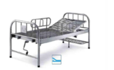 Stain less Steel One Function Manual Bed