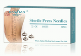 Sterile press needles