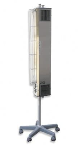 NBVE 60/30 P 2 function UV-C flow germicidal lamp with external radiator of direct action on mobile stand