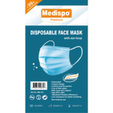 Medispo Disposable Face Mask Individually wrapped