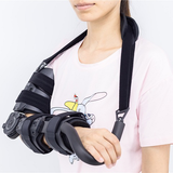Telescoping elbow support