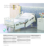 XFDA-2 Multifunction Electric ICU Bed