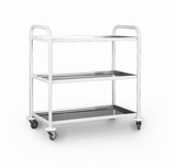 STAINLESS STEEL ITALIAN TROLLEY
