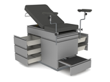 Gynecolocy Table with Drawers