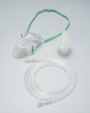 Oxygen mask with nebulizer