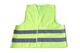 High visible safety vest EN ISO 20471 (yellow)