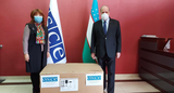 OSCE Project Co-ordinator in Uzbekistan provides humanitarian aid