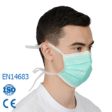surgicaL mask with tie
