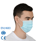 Leboo® Type IIR Disposable 3ply Face Mask/ Surgical Face Mask