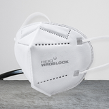 The technology of anti-microbial & anti-virus are using on our kn95 respirator mask