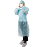 Disposable isolation gown