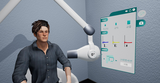 VR Radiography Simulator - Dental: Virtual Dental radiology training.