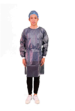 40201 PP + PE Isolation Gown