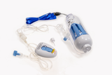 Disposable infusion pump-hard case