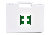 White Small first aid kit