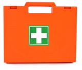 Orange Small first aid kit
