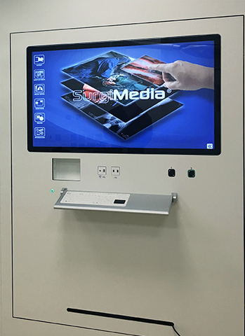 Autonomous and embedded video management solutions for ORs